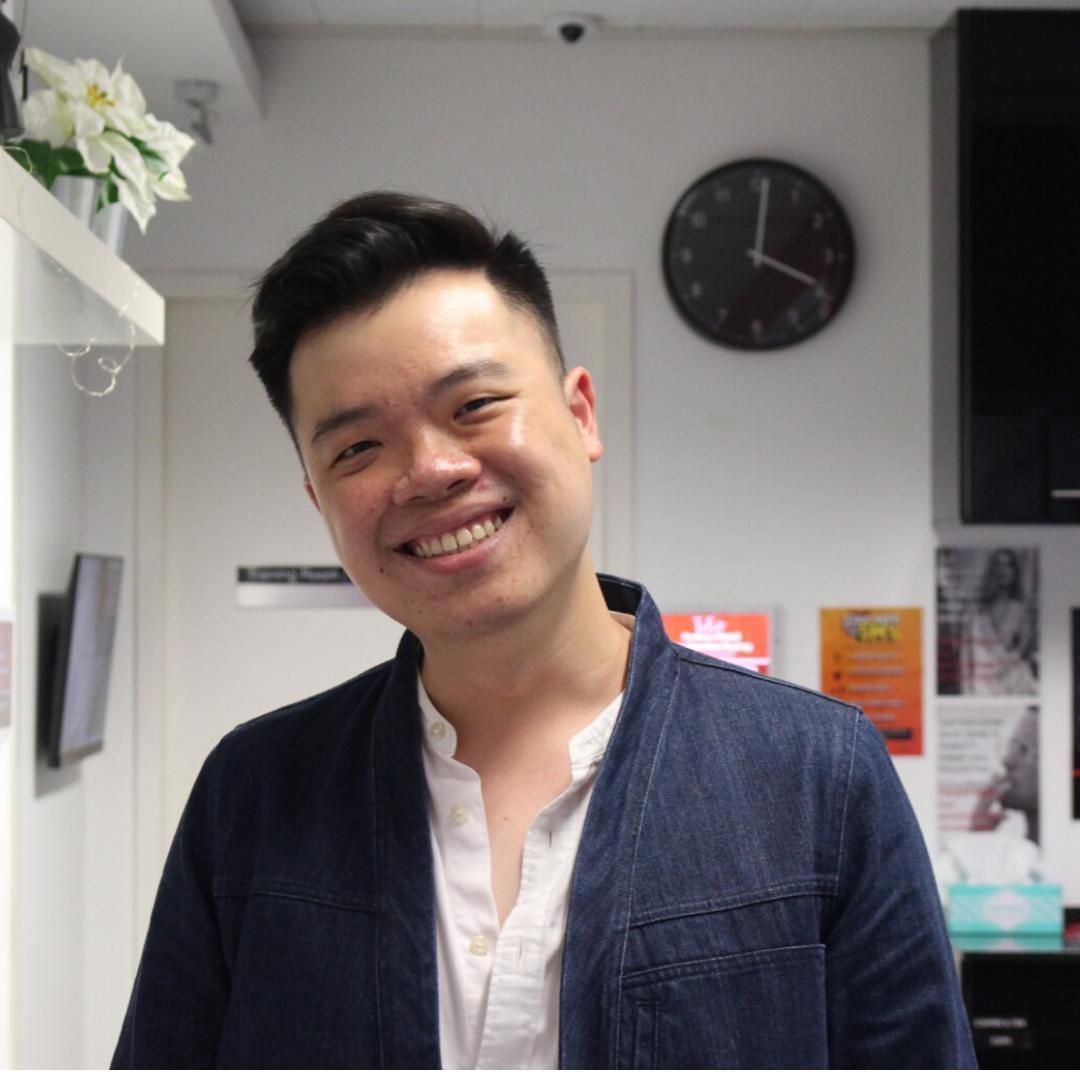 Wilson Yen, your programme advisor for fashion business qualification programmes