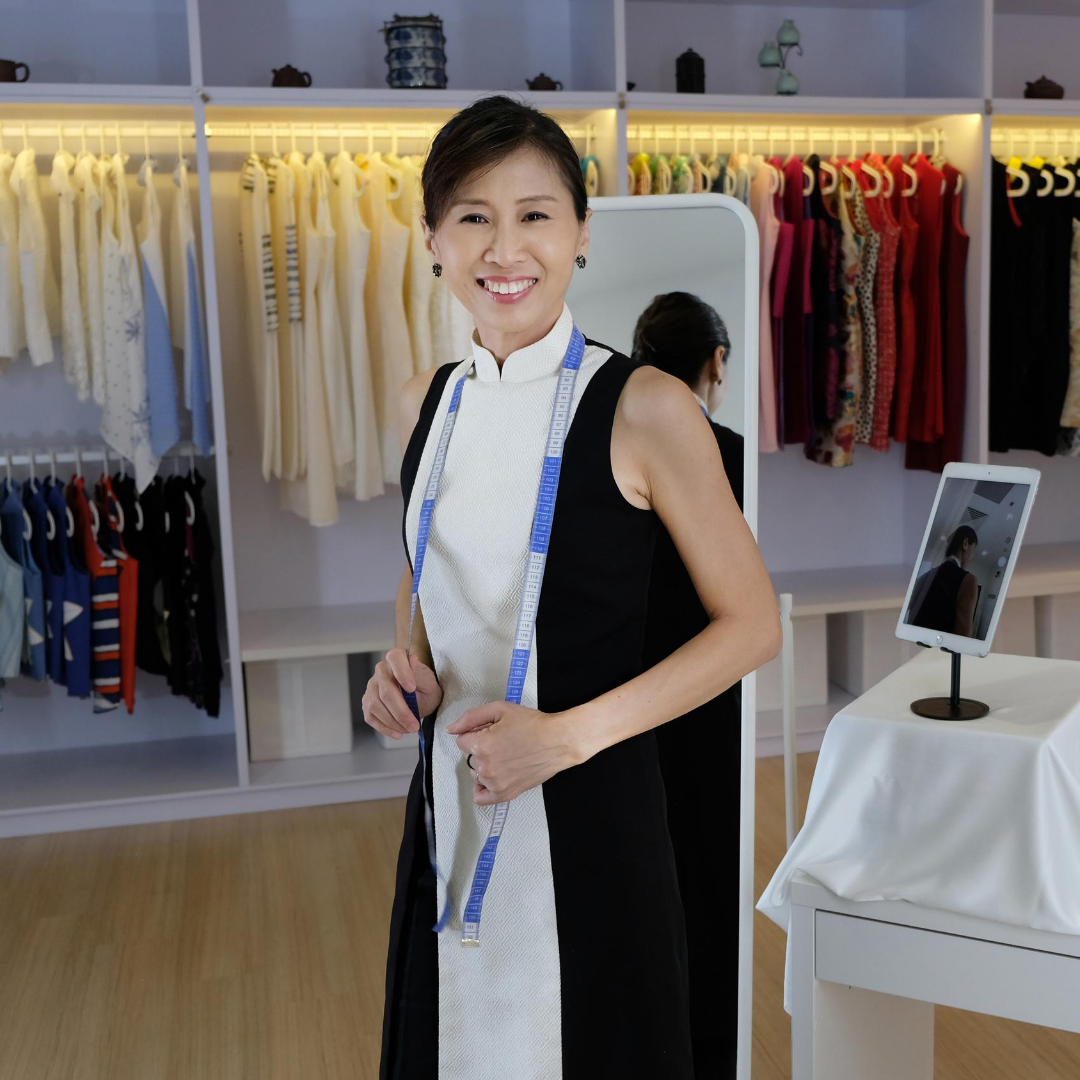 Josephine, a graduate from TaF.tc's Diploma and founder of Qiqing Qipao