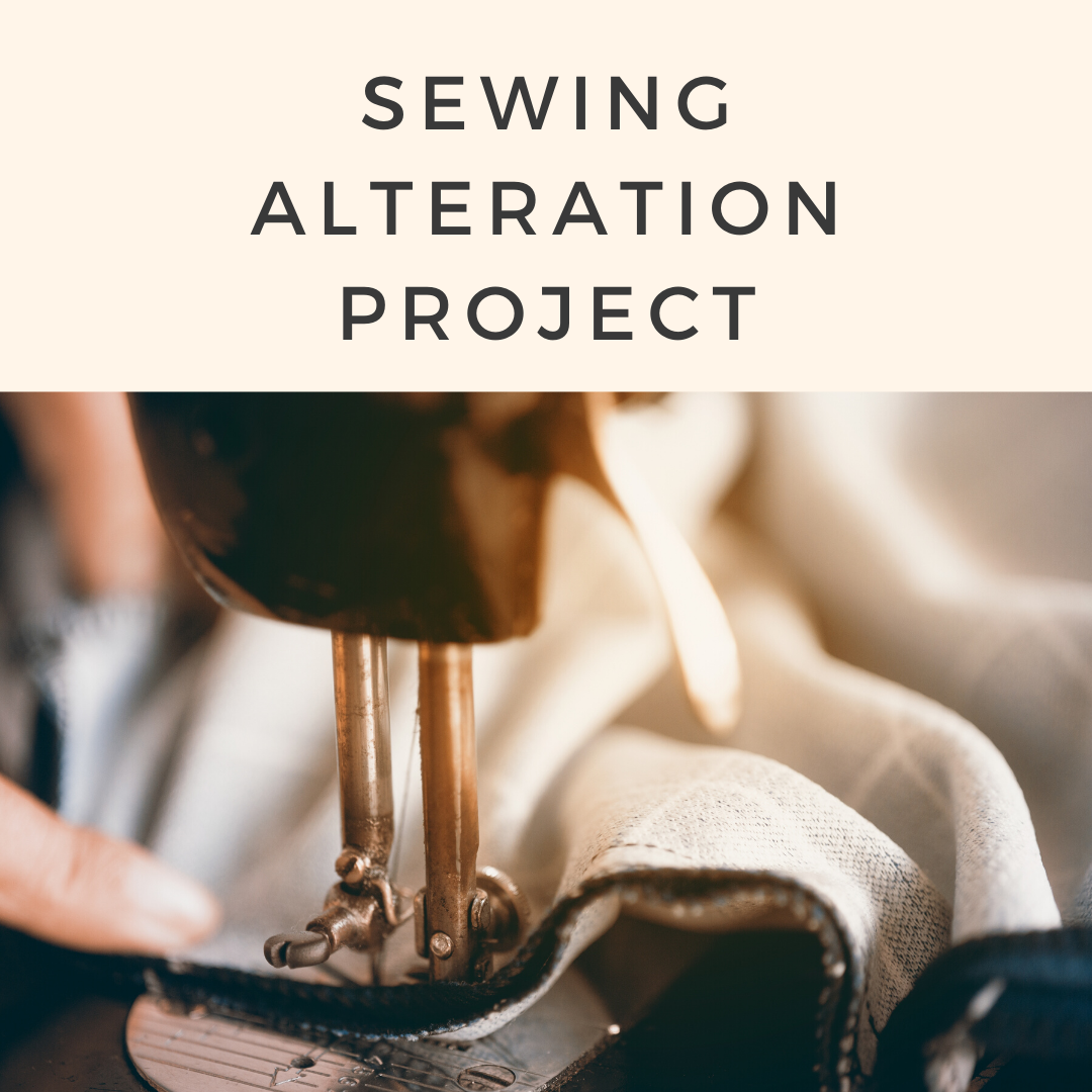 Sewing Alteration Project, a brand new project created by TaF.tc which we will be featuring during our Virtual Fashion Open House
